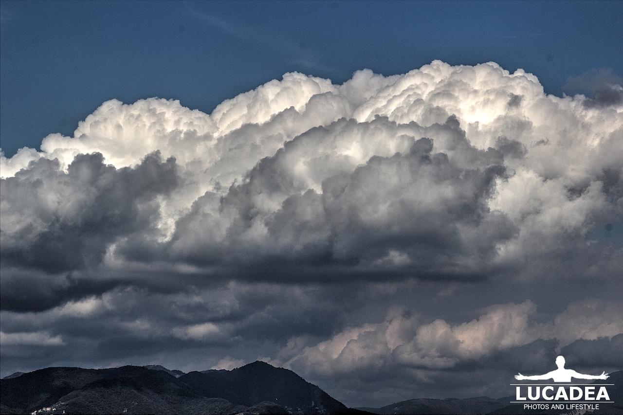nuvole gonfie