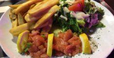 Carpaccio di salmone: piatto di pesce semplicissimo (foto)