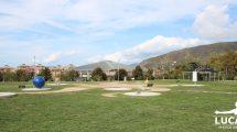 La meridiana del Parco Mandela a Sestri Levante