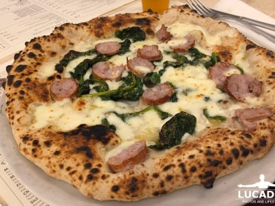 pizza salsiccia e friarelli