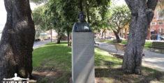 Il busto di Caterina Bixio a Sestri Levante