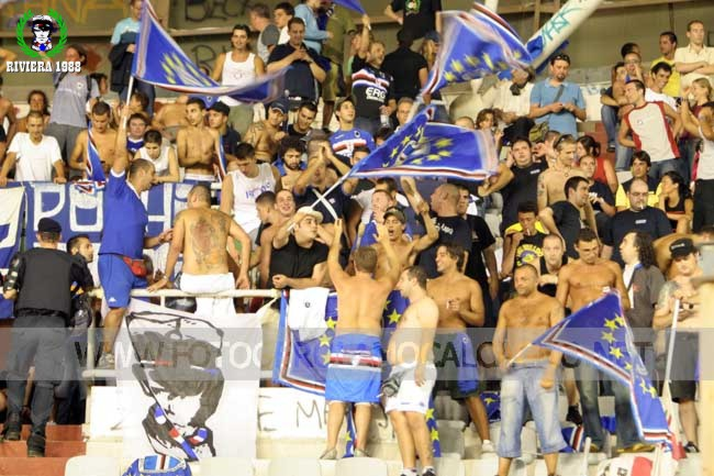 Hajduk Spalato-Sampdoria 2007/2008