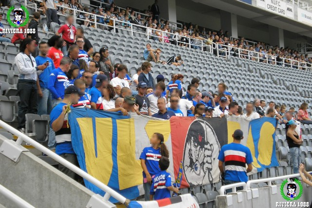 New Castle-Sampdoria 2007/2008 amichevole