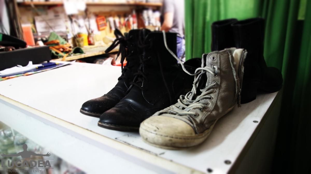 Scarpe riparate