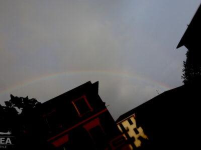 Arcobaleno nel cielo