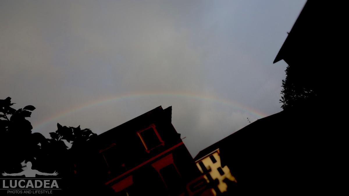 Arcobaleno nel cielo sestrese