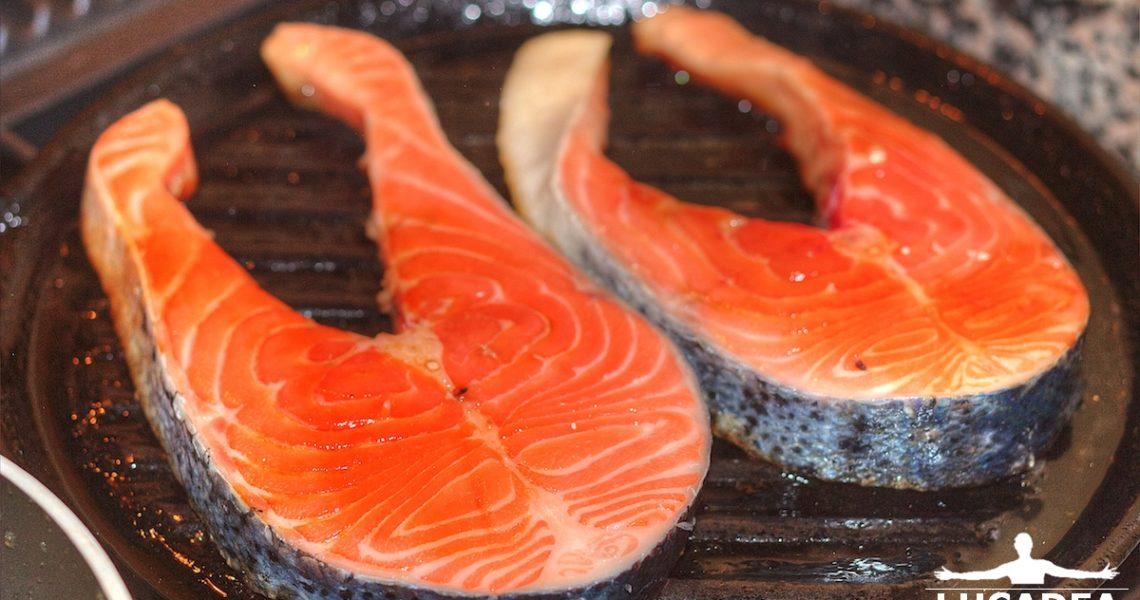 Trancio di salmone