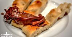 Nutella e focaccia ligure