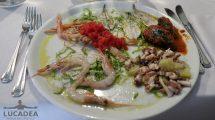 Antipasto di pesce misto