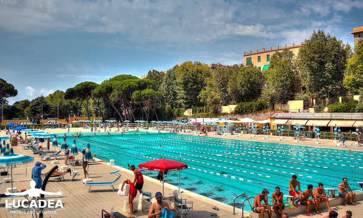 Le piscine di Albaro a Genova