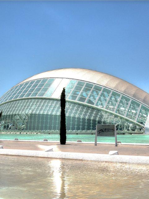 La Città delle Arti e delle Scienze a Valencia