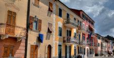 Le case a Riva Trigoso
