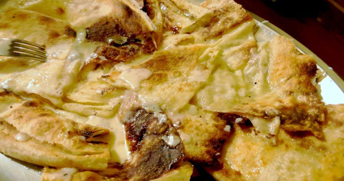 Focaccia al formaggio di Pivazzano