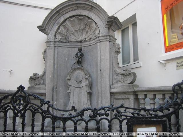 Manneken Pis, uno dei simboli di Bruxelles
