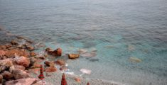 Mare trasparente a Monterosso