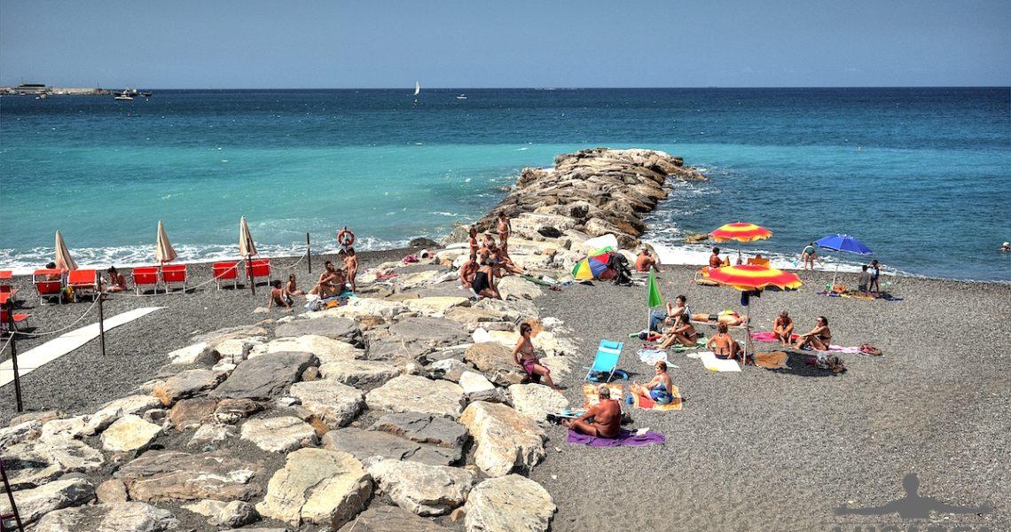 Pennello spiaggia di Sant'Anna il 6 luglio