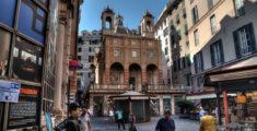 Piazza Banchi a Genova