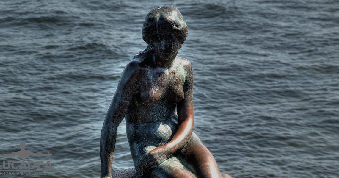 Statua della Sirenetta a Copenhagen