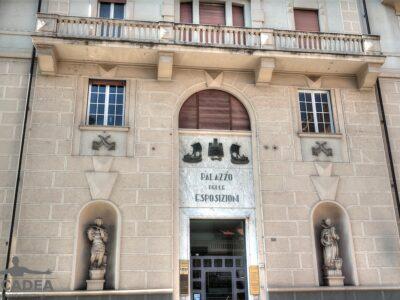 Il palazzo delle espisizioni a Chiavari