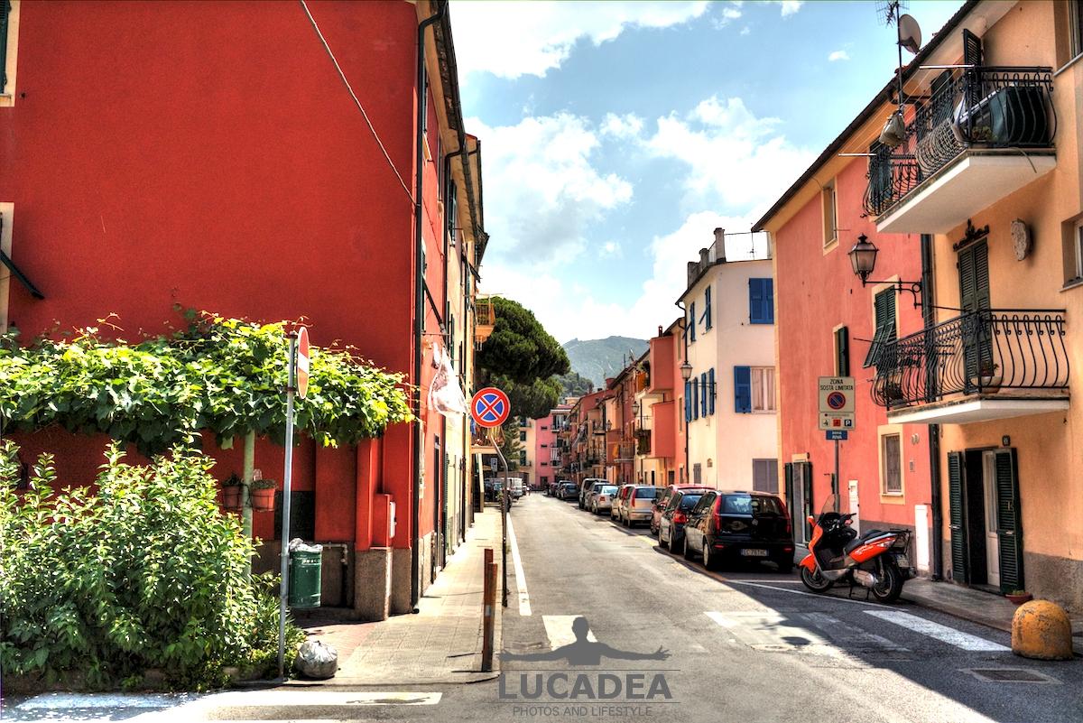 Via Milite Ignoto a Riva Trigoso
