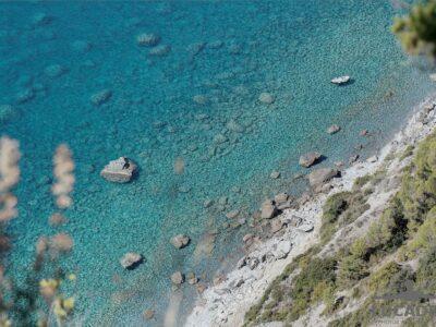 Acqua trasparente in Liguria
