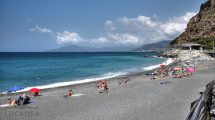 Spiaggia di Sant'Anna il 6 luglio