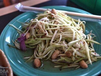 Insalata di papaya verde thai