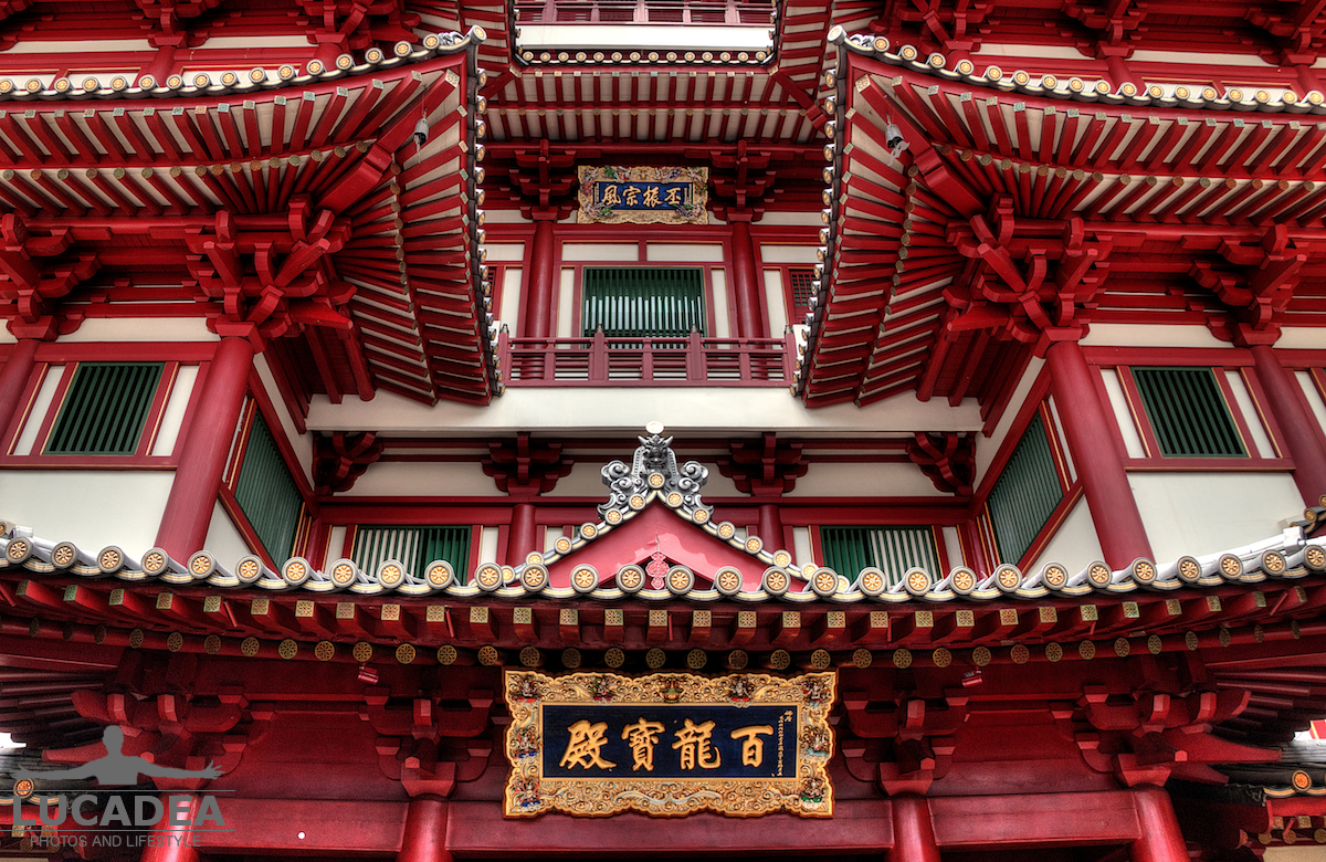 Buddha Tooth Relic Temple a Singapore