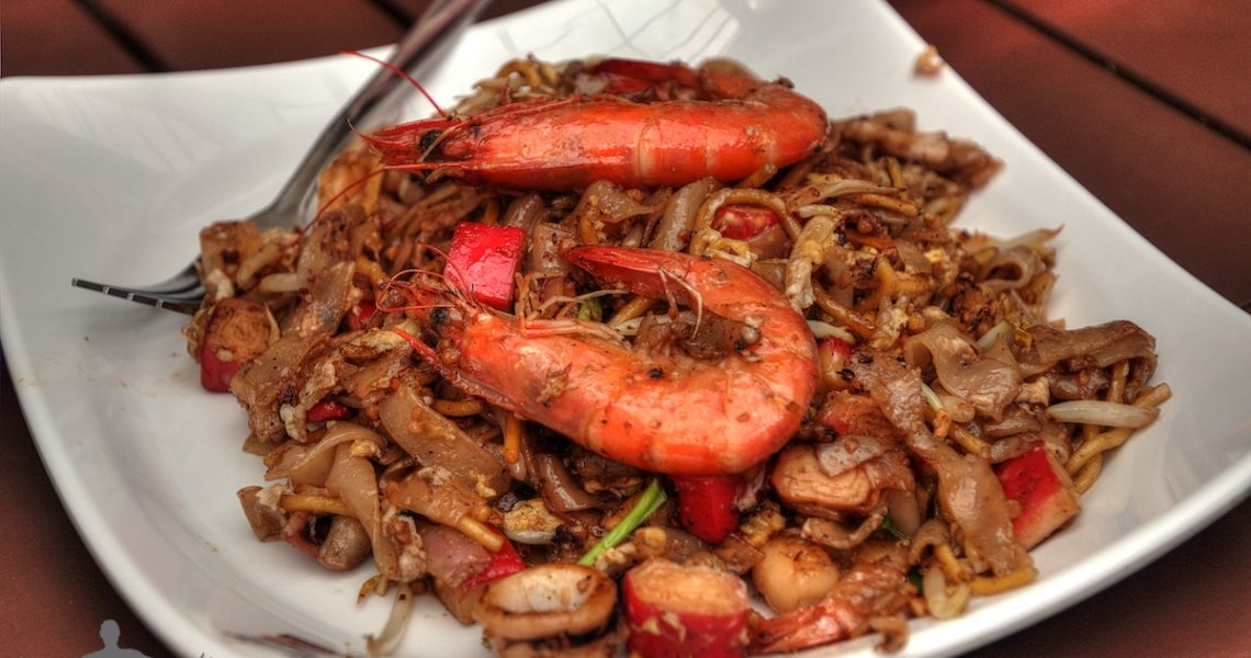 Noodle with seafood