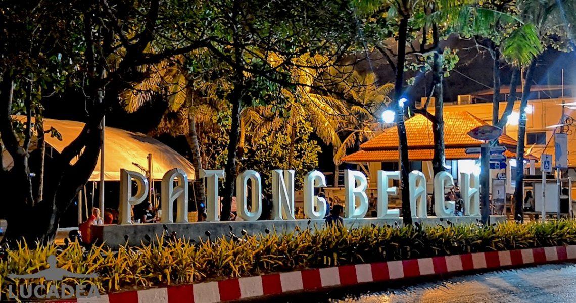 Patong beach in Thailandia