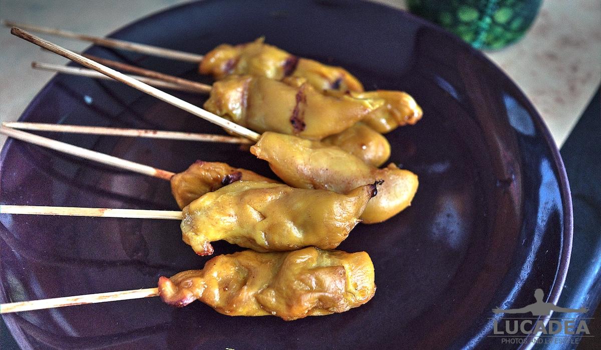 Stecchini di pollo thai