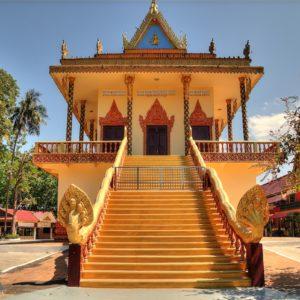 Tempio Wat Leu in Cambogia