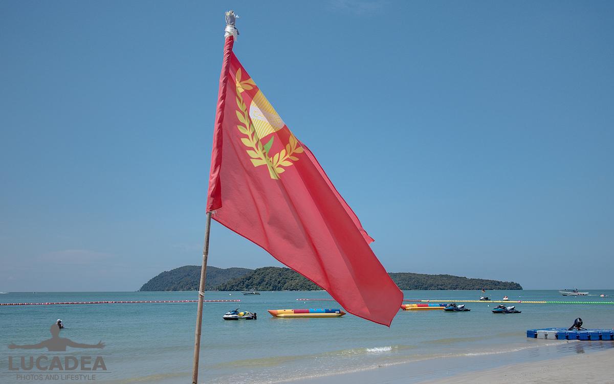 Bandiera a Langkawi