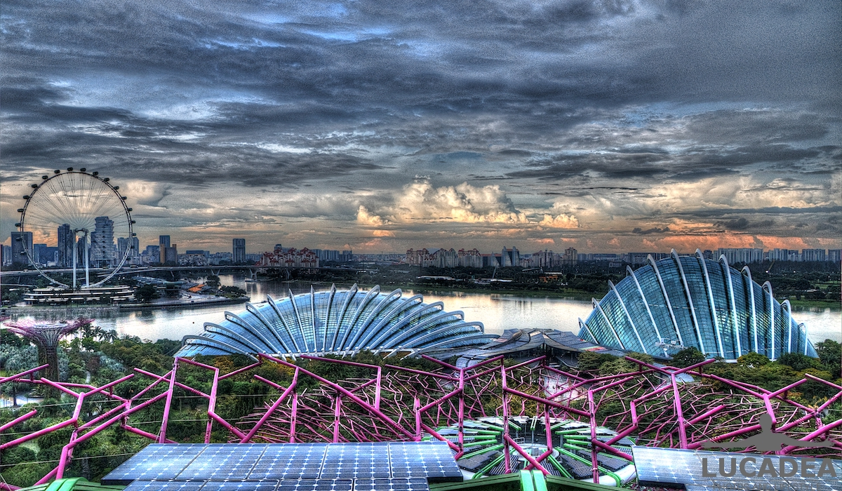 Singapore in hdr