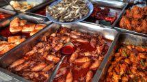 Street food malese