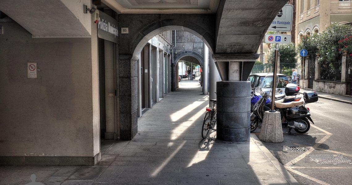 Vicoli moderni di Chiavari