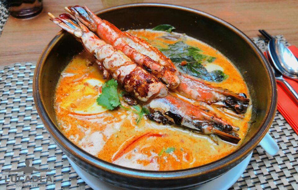 Ricetta Zuppa Thai Con Gamberi.Zuppa Thai Con Gamberi
