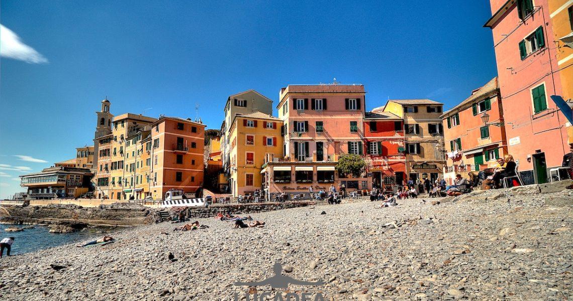 Boccadasse, la perla di Genova sul mare
