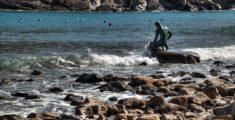 Il pescatore in Baia del Silenzio
