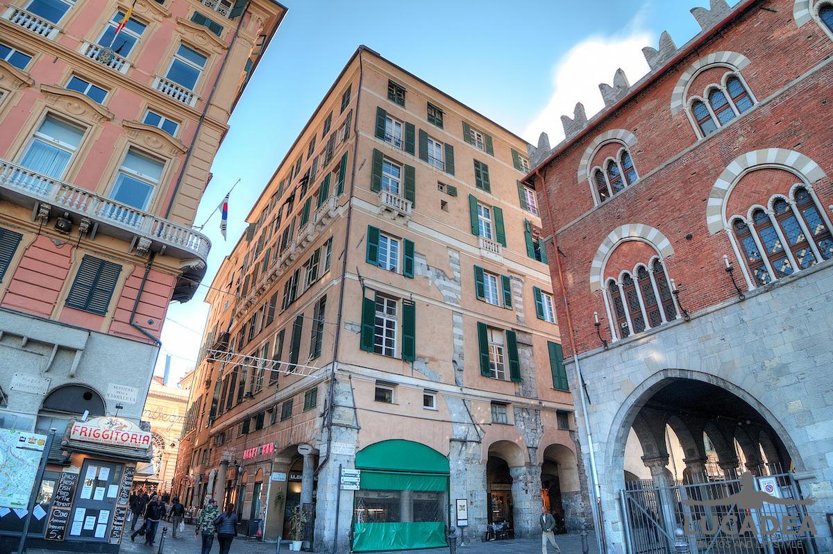 Inizio dei Vicoli di Genova