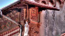Particolare palazzo Fascie Rossi