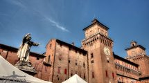 Savonarola e il castello Este