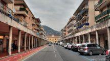Viale Roma a Sestri Levante