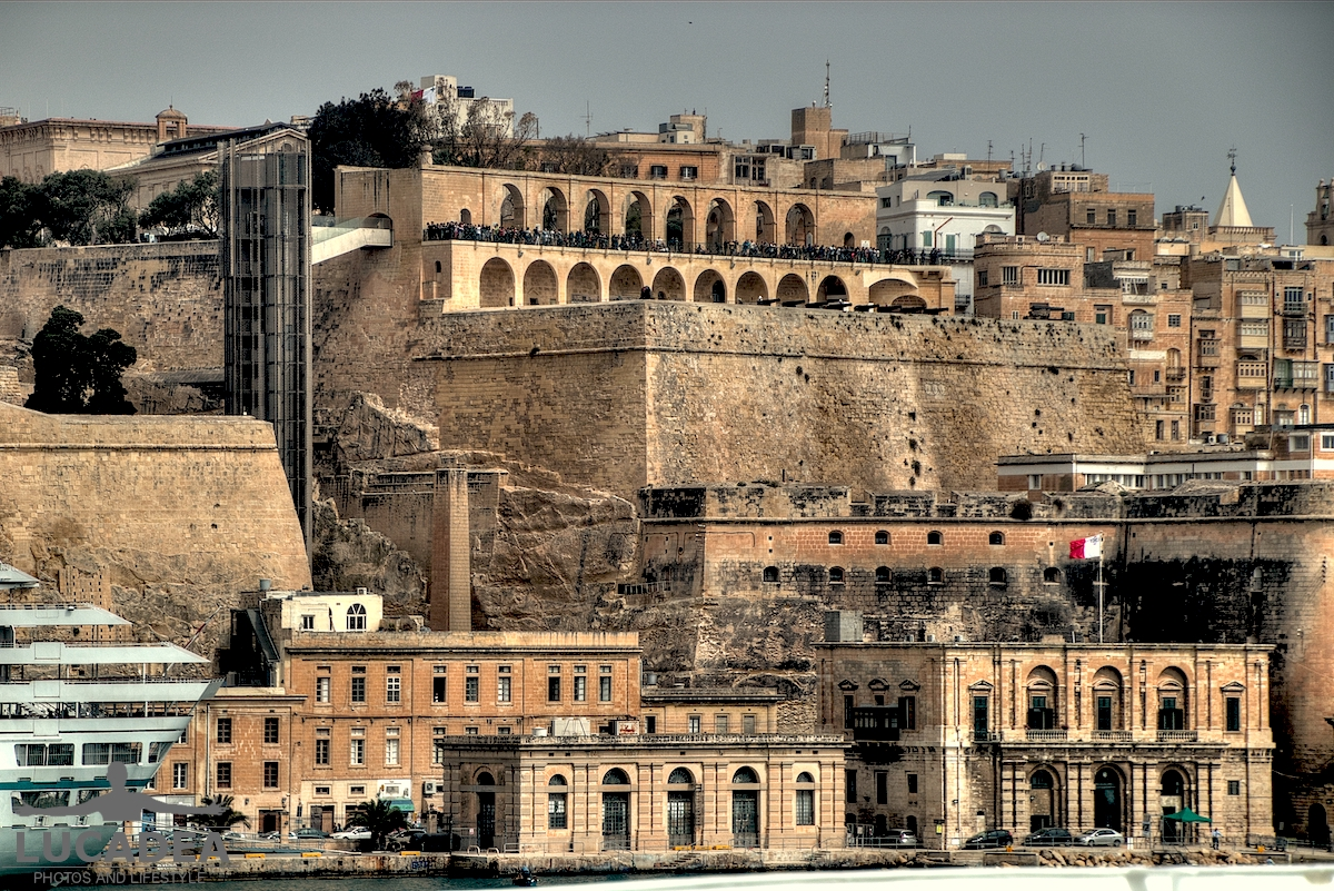 Barrakka Gardens a La Valletta
