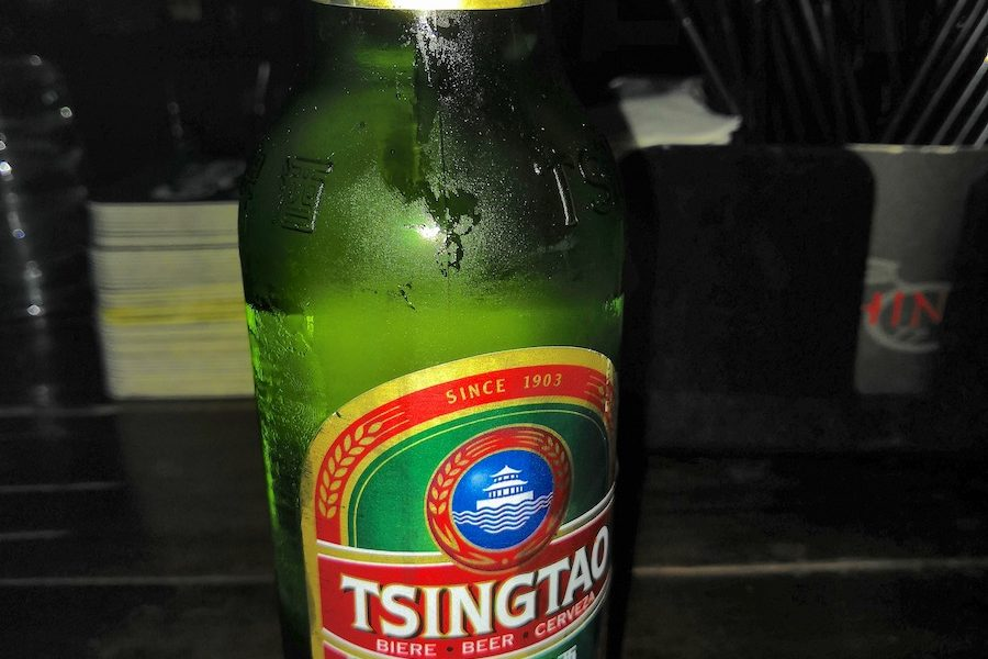 Birra Tsingtao, bionda cinese