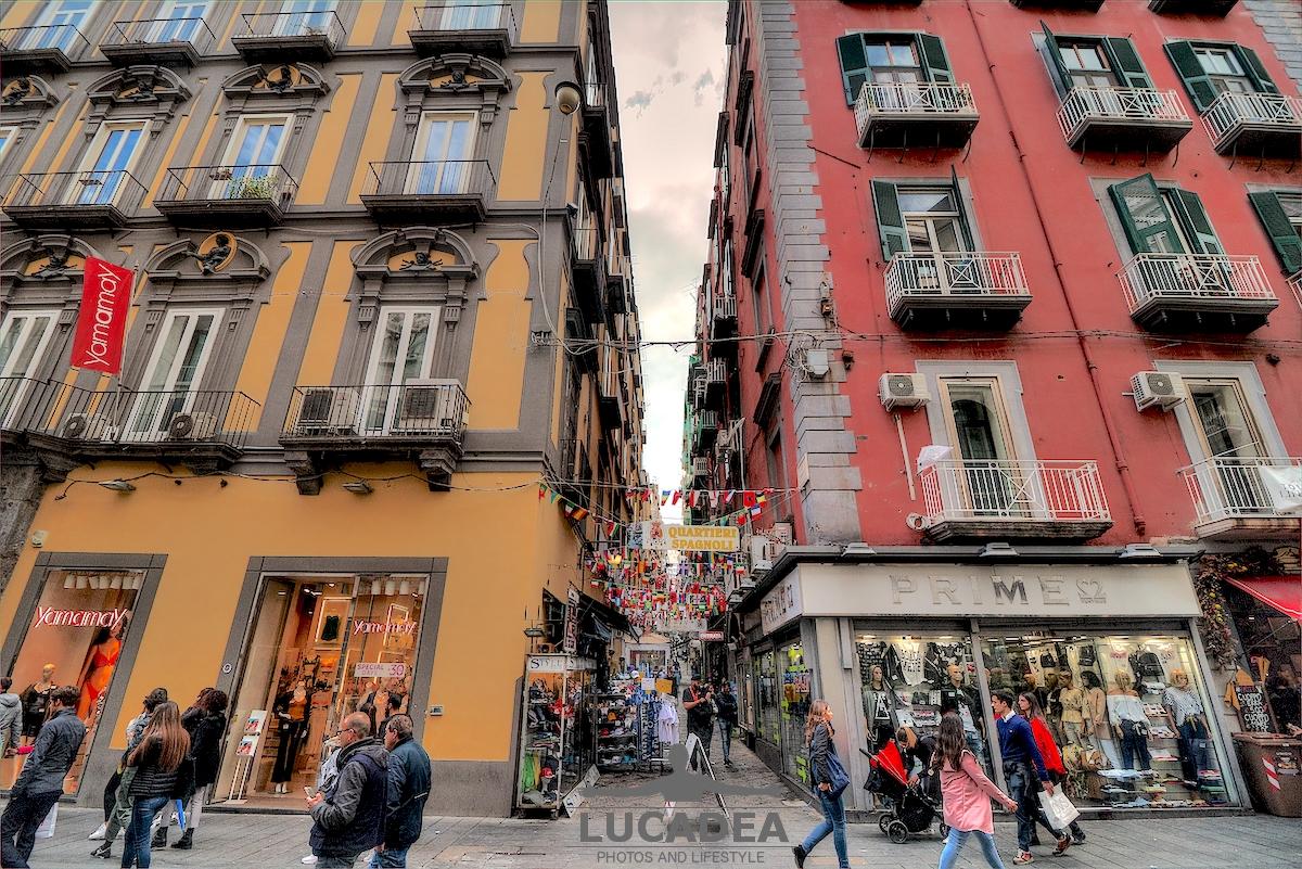 I quartieri Spagnoli a Napoli