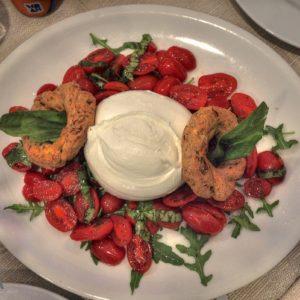 La mozzarella mangiata a Napoli