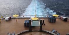 La scia della nave
