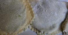 Pansotti fatti in casa close-up