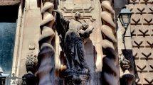 Statua di San Francesco Borgia a Barcellona